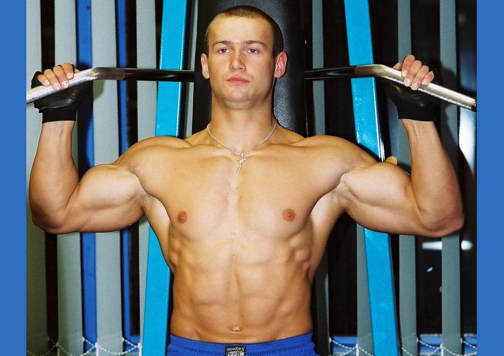 Dominik Hałas w wieku 19 lat